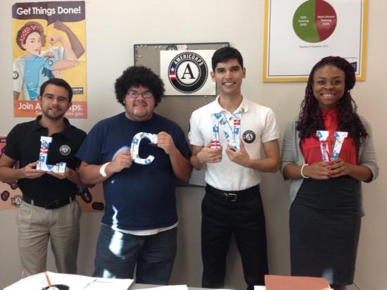 2013 AmerCorps members