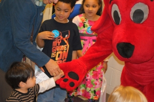 WETA Kids' Clifford the Big Red Dog at LCNV's Reading: A Family Affair