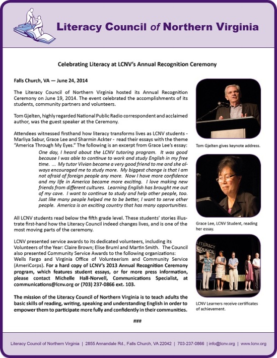 LCNV Recognition Event 2014 Press Release #2 - Follow Up_25%