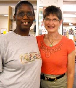 Student Laura and tutor Paula